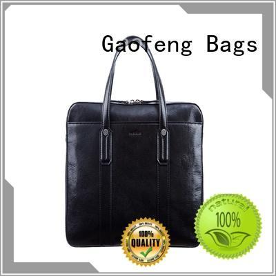 GF bags comfortable mens briefcase bag for man