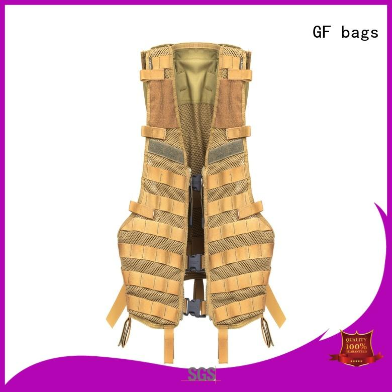 GF bags strengthen military style backpack customization for shopping