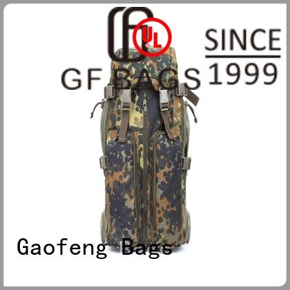 GF bags strap military gear bags bulk production for trip