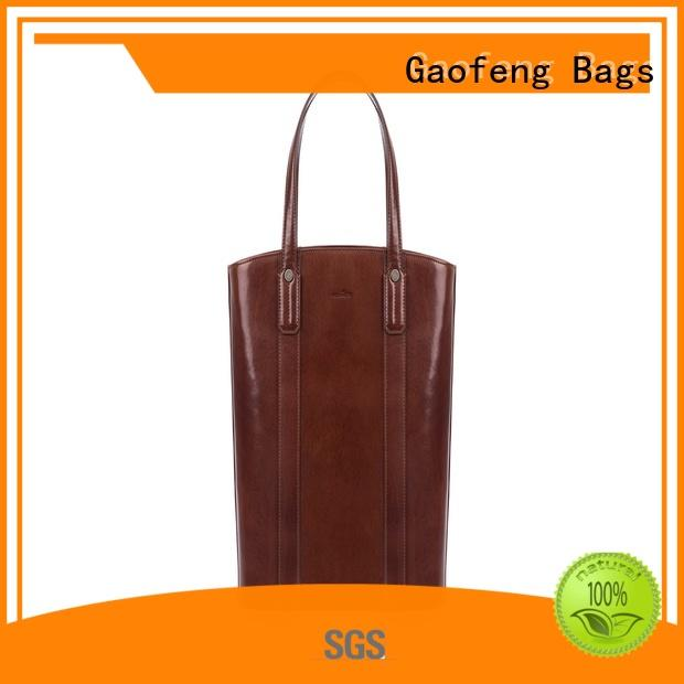 GF bags factory price tote bag with zipper zipper for ladies
