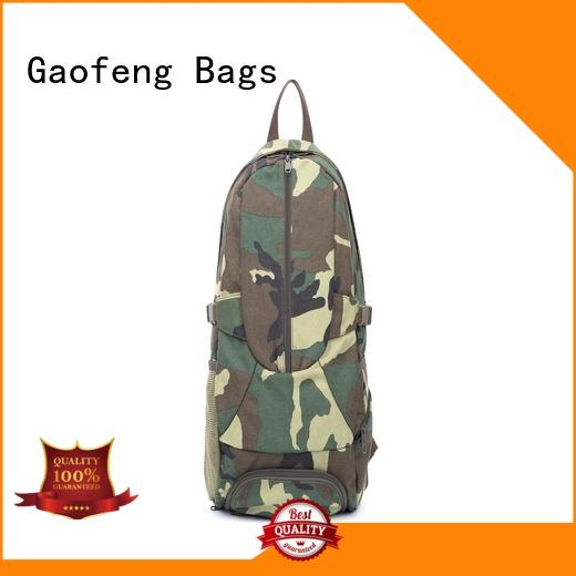 GF bags case military style backpack customization for shopping
