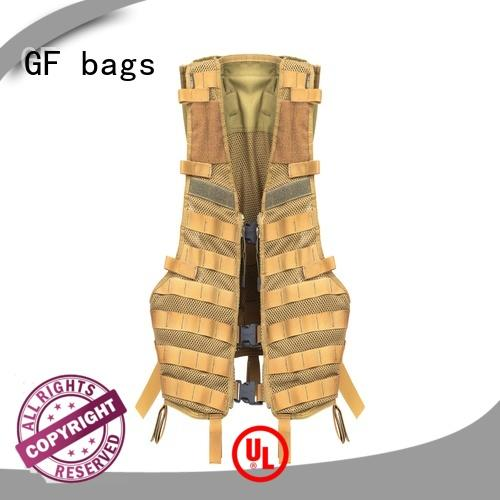 GF bags zipper tactical shoulder bag customization for ladies