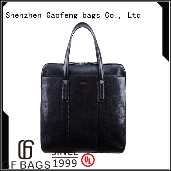 GF bags closure mens briefcase bag inquire now for business trip