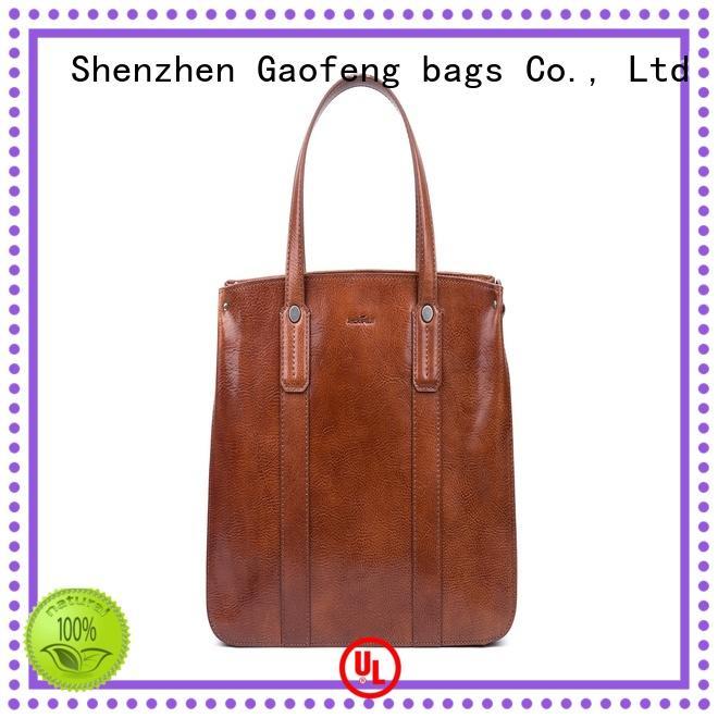 microfiber cream handbags for women GF bags