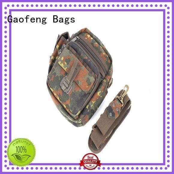 GF bags wholesale tactical pouch bag zipper for ladies