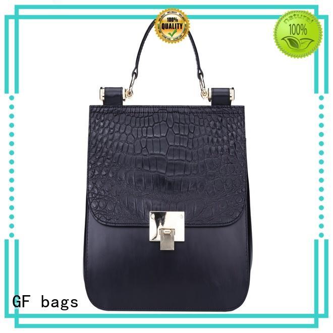 GF bags waxed fashion handbags metal for women