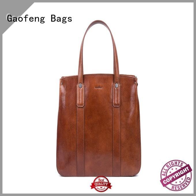 GF bags waxed ladies bag closure for ladies