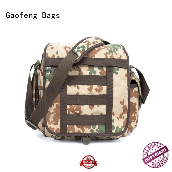 military style backpack closure for trip GF bags