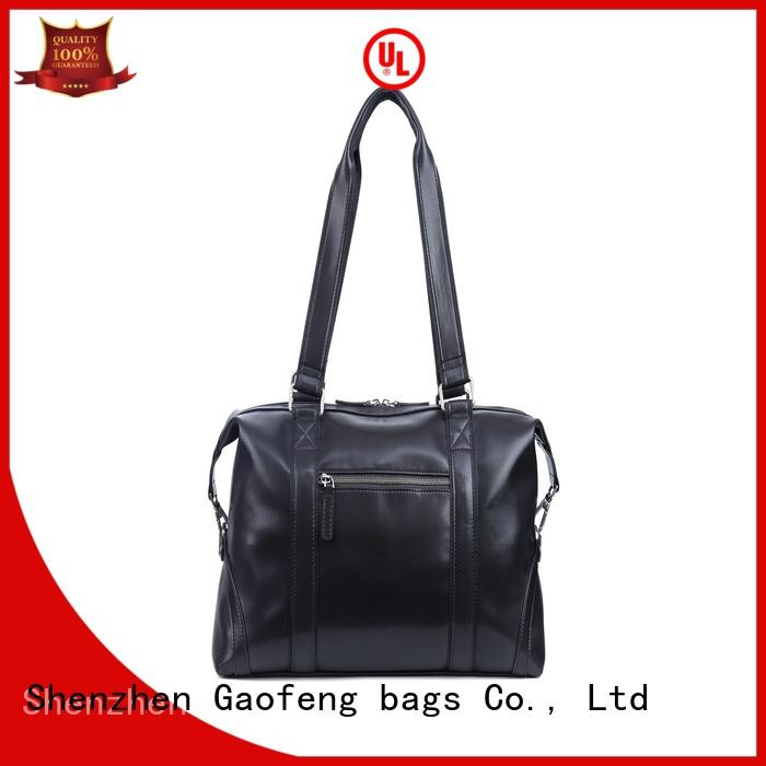 leather duffle supplier for male GF bags