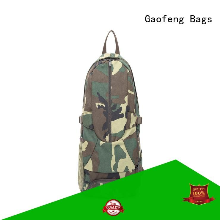 army military backpack shell for ladies GF bags