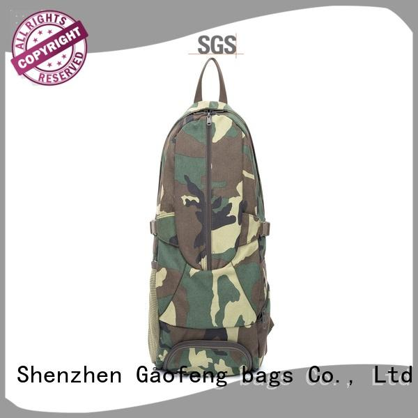travel military vest case for shopping GF bags