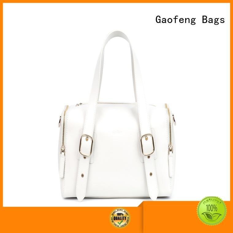 GF bags waxed ladies bag closure for women