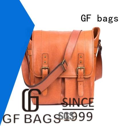 GF bags genuine leather male messenger bags for lady