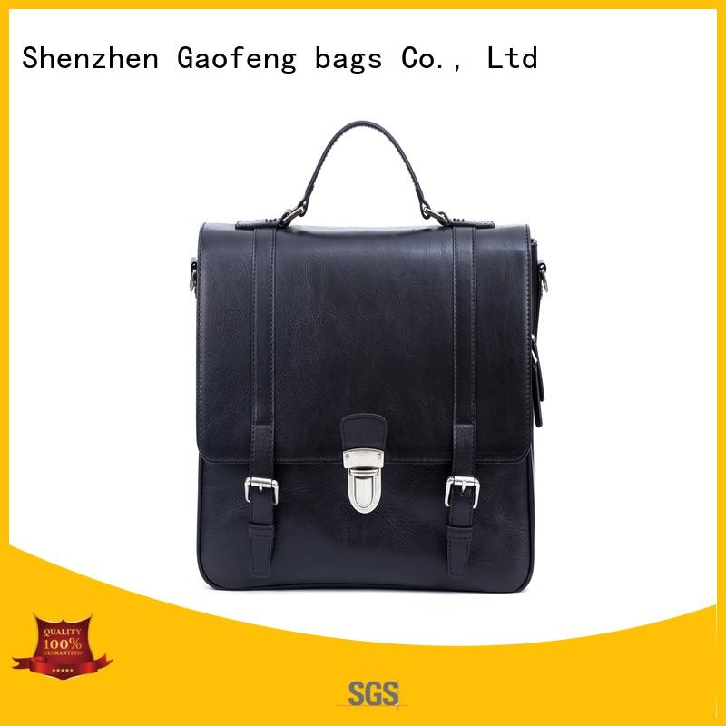 large business bag leather for lady GF bags