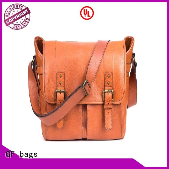 GF bags hot-sale best leather messenger bag supplier for lady