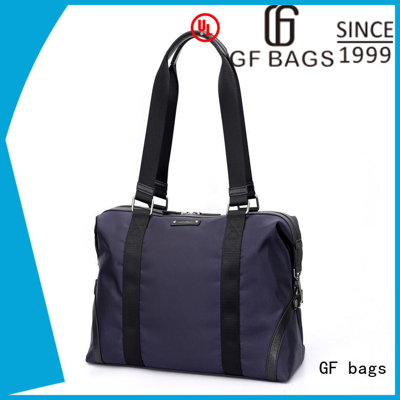 GF bags leather mens travel duffle bag manufacturer for boy