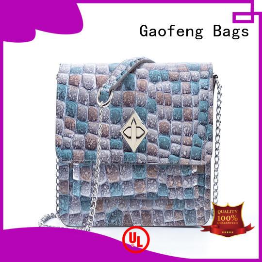 GF bags bag leather shoulder bag women's supplier for shopping