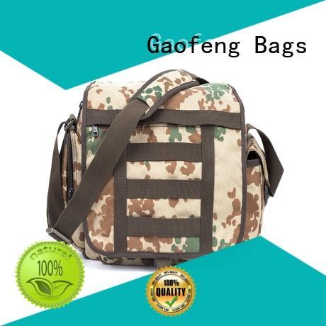 GF bags hot-sale tactical man bag customization for ladies