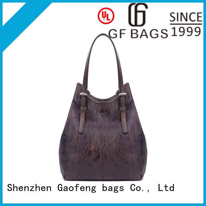 GF bags simple trendy handbags crocodile for shopping