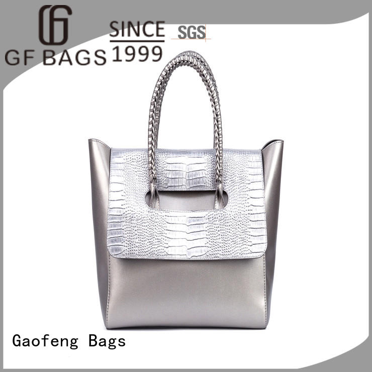 leather cover fashion handbags closure for women