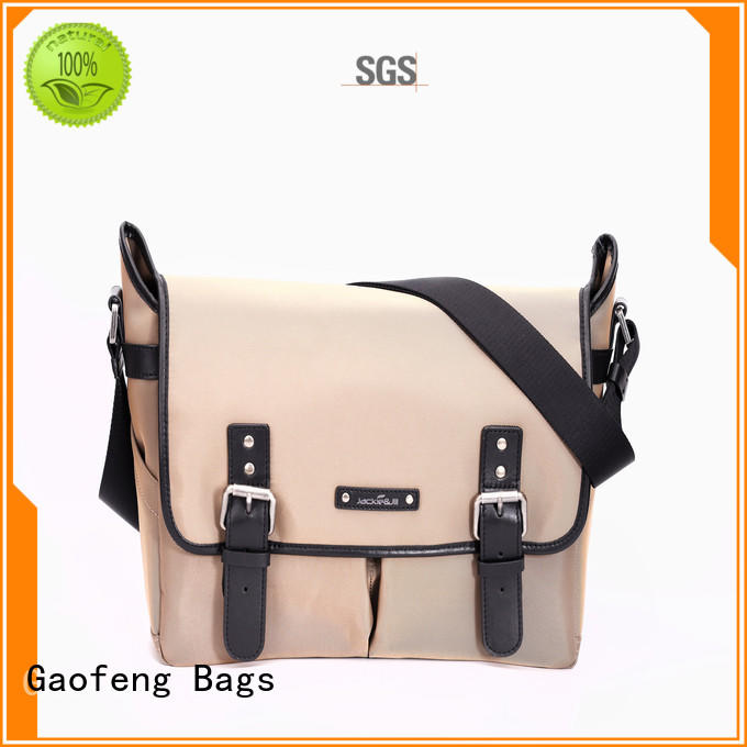 GF bags genuine leather male messenger bags manufacturer for lady