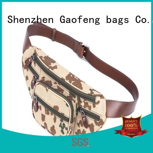 GF bags pocket body bag factory price for travel