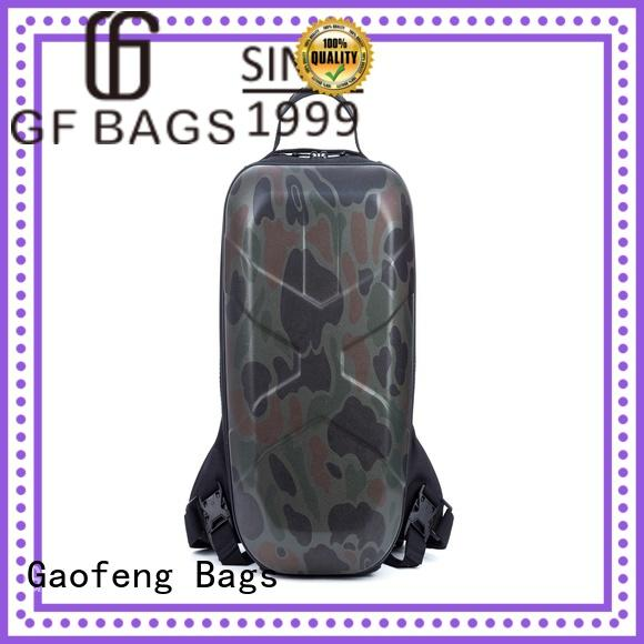 GF bags fabric military style backpack bulk production for ladies