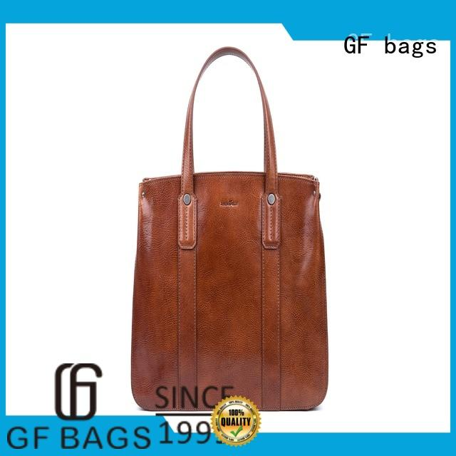 GF bags leather ladies bag lock for shopping