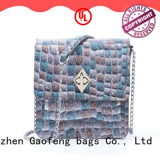 high-quality leather shoulder bag women's manufacturer for cosmetics