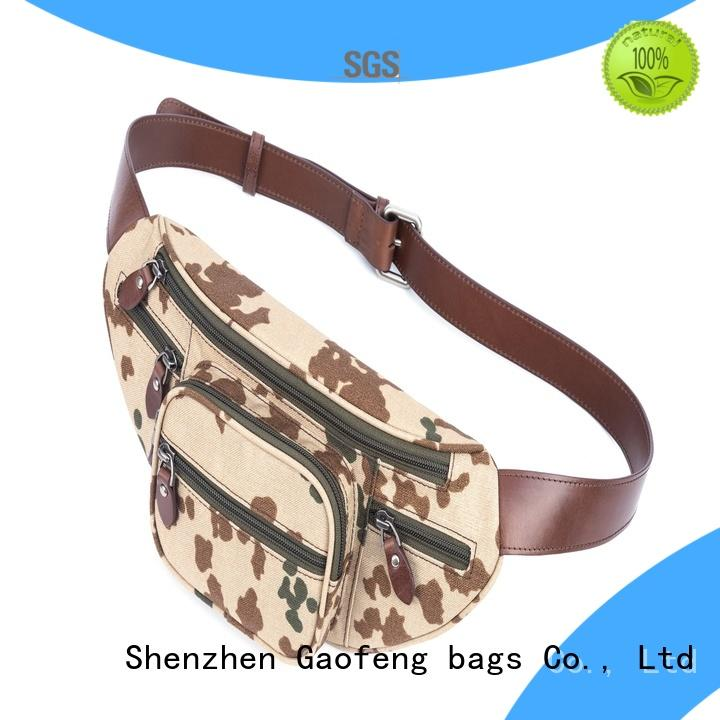 GF bags high-end body bag factory price for trip
