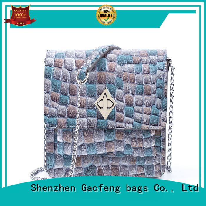 high-quality girls shoulder bag shape supplier for shopping