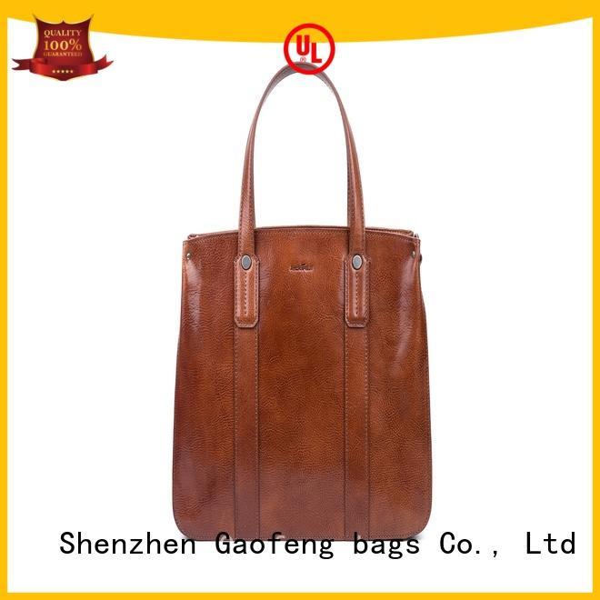 waxed fashion handbags metal metal for shopping