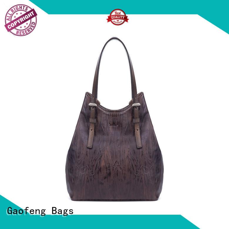 GF bags metal fashion handbags closure for shopping
