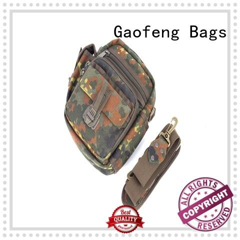 GF bags custom military tactical backpacks messenger for shopping