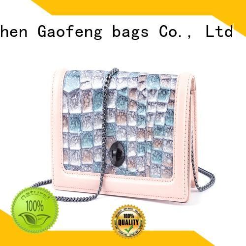 small bag design metal for ladies GF bags