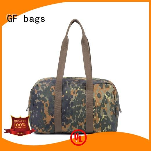 GF bags strengthen military style backpack bulk production for shopping
