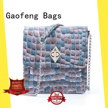 GF bags wholesale ladies shoulder bag factory for ladies