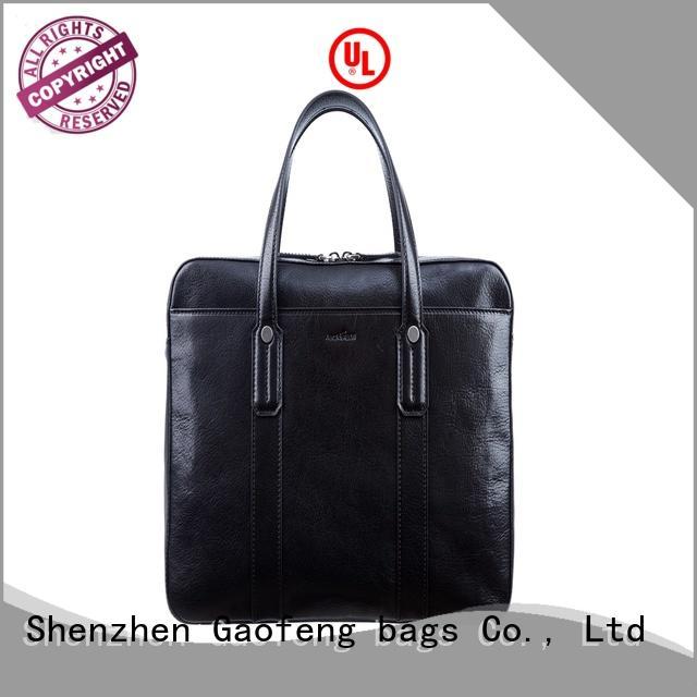 genuine leather briefcase bag genuine pattern for man