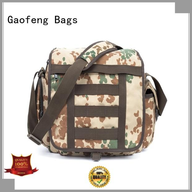 GF bags vest tactical shoulder bag customization for shopping