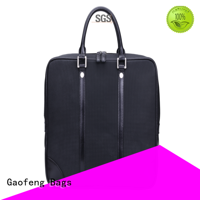 GF bags pattern slim briefcase order now for man