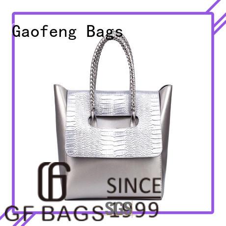 GF bags microfiber cream handbags cover for shopping