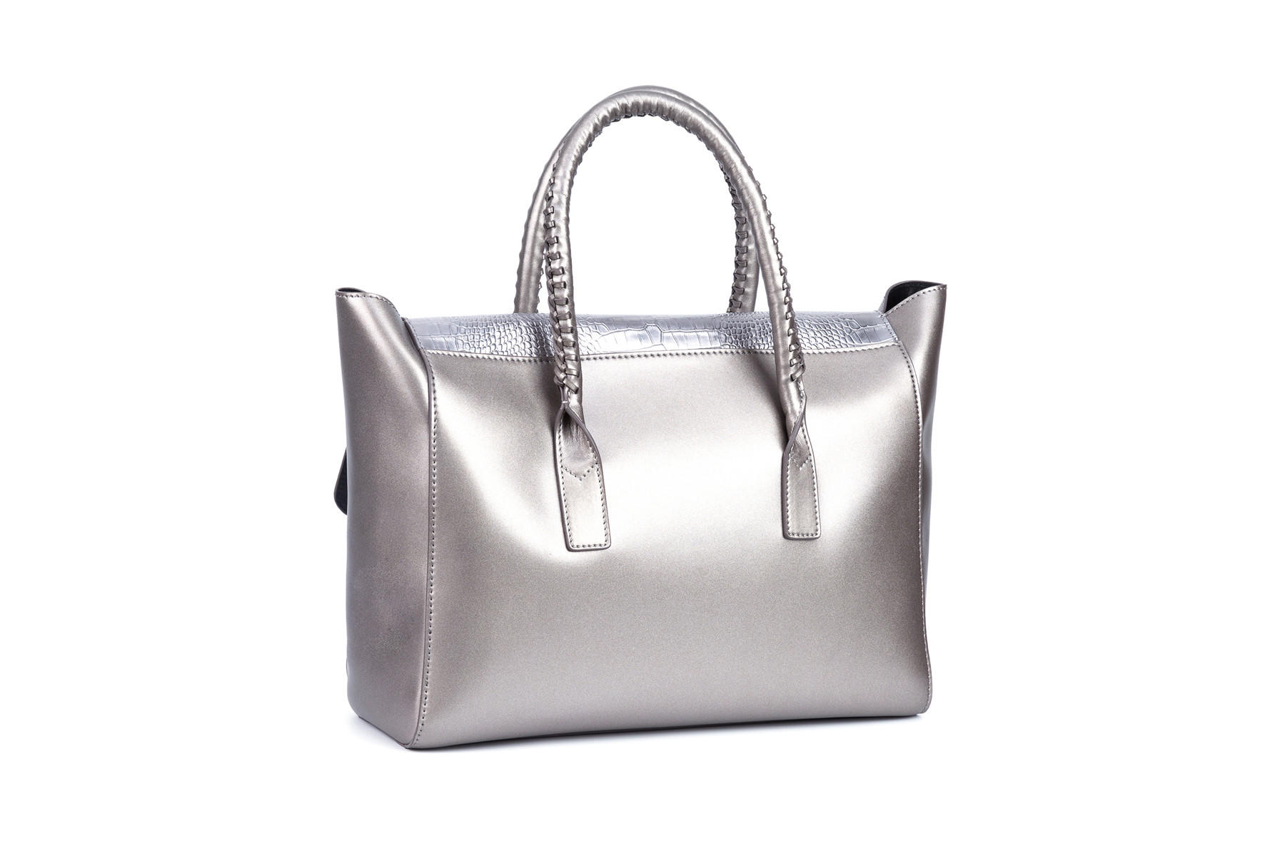 GF bags microfiber ladies bag metal for ladies-3