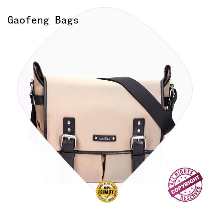 GF bags genuine leather male messenger bags supplier for women
