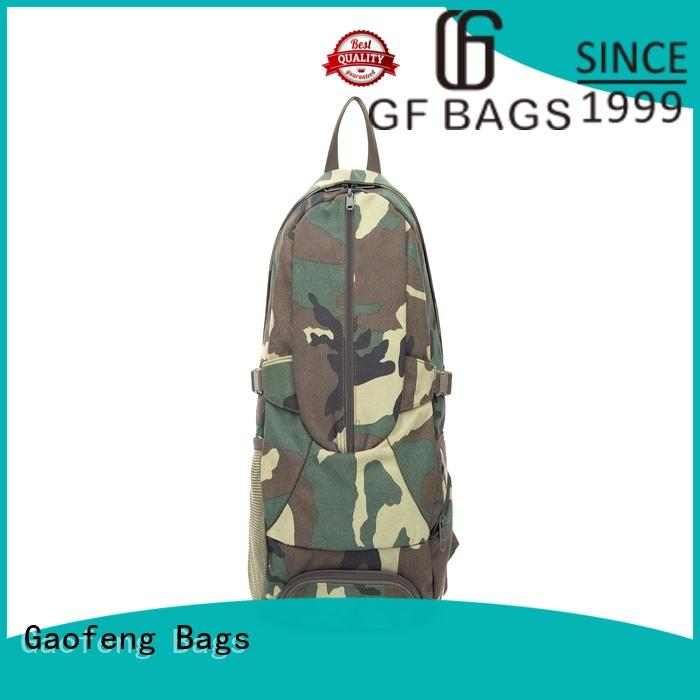 GF bags wholesale low profile tactical backpack closure for trip