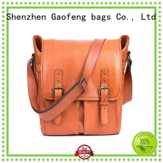 hot-sale mens leather laptop messenger bag style manufacturer for girls