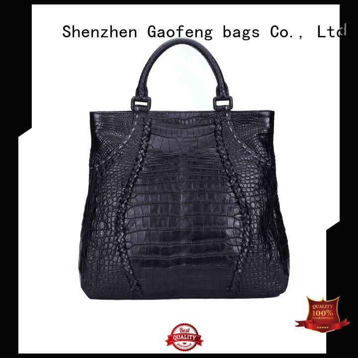 GF bags crocodile affordable handbags metal for women