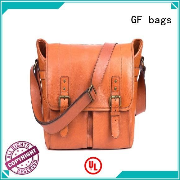 GF bags hot-sale mens leather laptop messenger bag manufacturer for women