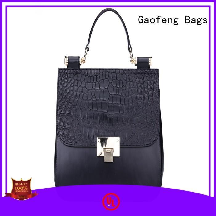 metal luxury handbags top for shopping GF bags