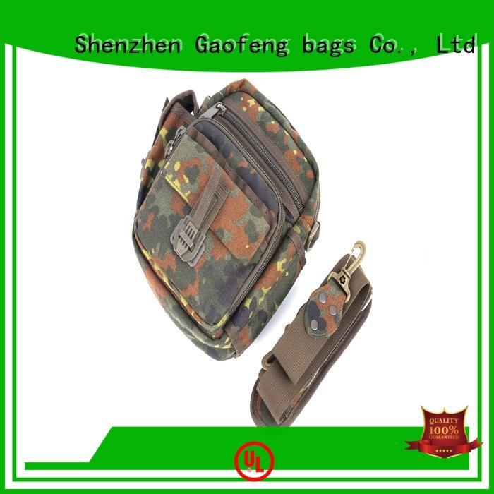 GF bags crossbody military tactical vest bulk production for trip