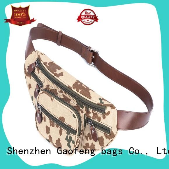 GF bags high-end body bag pocket for travel
